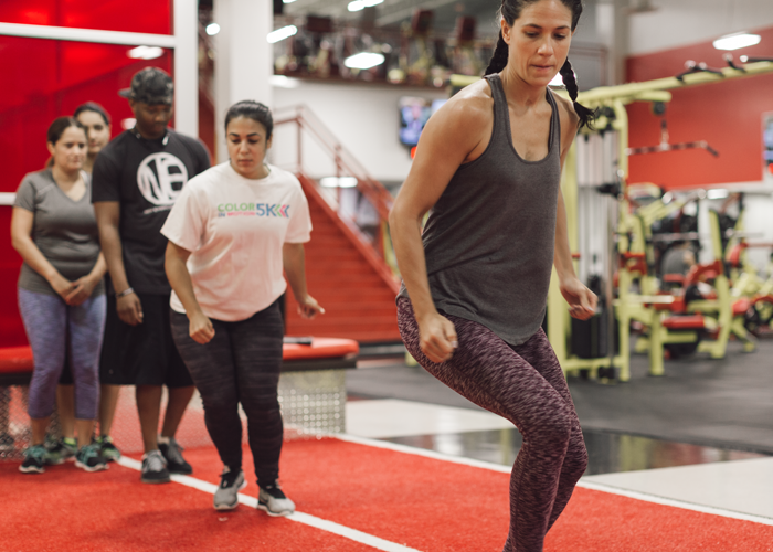 Myzone gamified workout