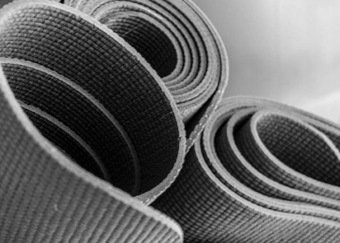 Rent equipment like yoga mats