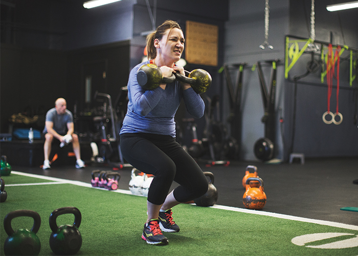 High intensity interval training with MYZONE