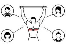 Man exercising icon
