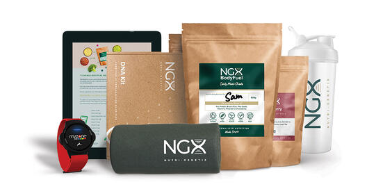 NGX DNA nutrition and Myzone heart rate monitor partnership
