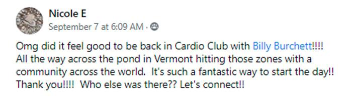 Nicole Cardio Club