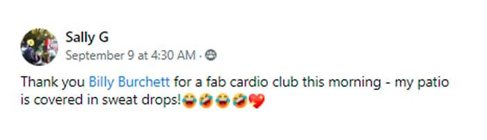 Sally Cardio Club